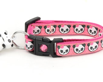 Girly Panda Bears on Pink