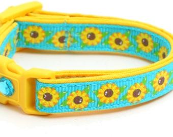 Summer Sunflowers on Sky Blue - B19D134