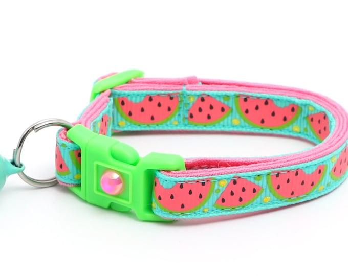 Sweet Pink Watermelon on Aqua B82D20
