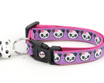 Girly Panda Bears on Purple