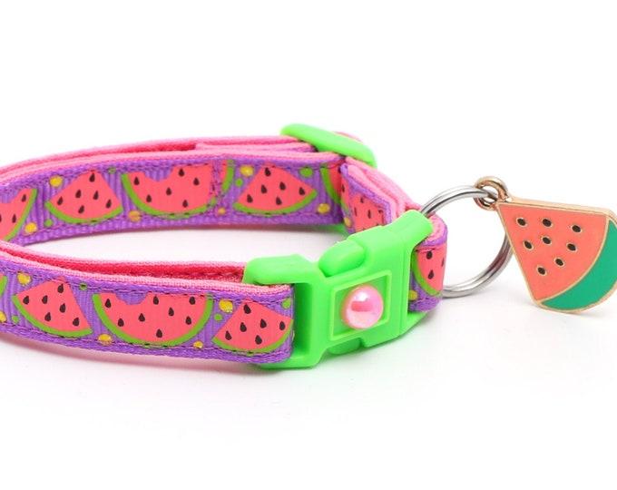 Sweet Pink Watermelon on Purple B10D20