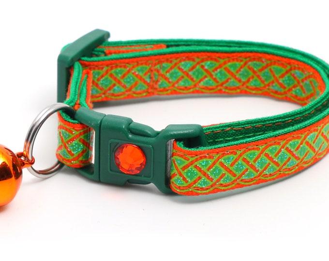 Celtic Knots on Orange B121D207