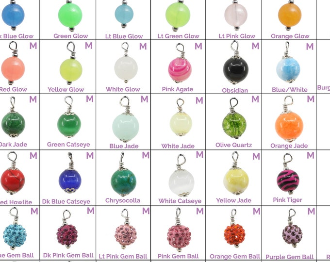 Collar Charms - Pearl Charms - Flair - Extra Charms for Cat Collars - Bling - Jewelry Pearls
