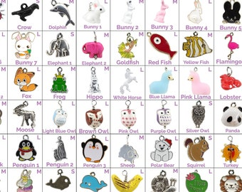 Collar Charms - Animal Charms - Flair - Extra Charms for Cat Collars - Bling - Jewelry