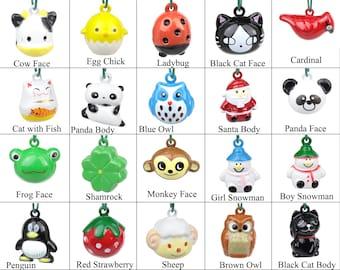 Cat Bells - Special Character Jingle Bells - Cat Collar Bells - Extra Loud Noisy & Large