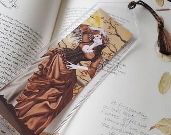 Bookmark Owl Fairy - Hunter's Moon
