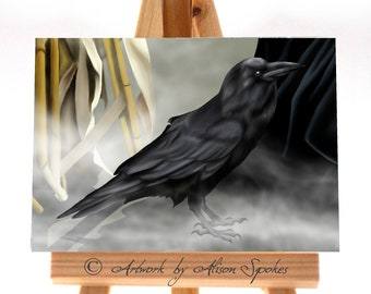 ACEO - Raven Limited Edition