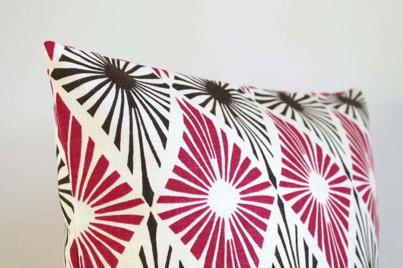 Cushion Cover Graphic Diamond Berry 18x18 Throw Pillow Cover Diamond Pillow Sham