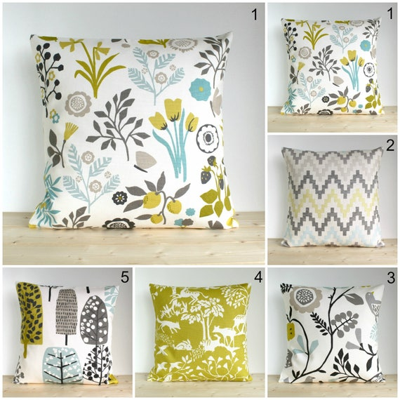 Floral Pillow Cover 10x10 Cushion Cover