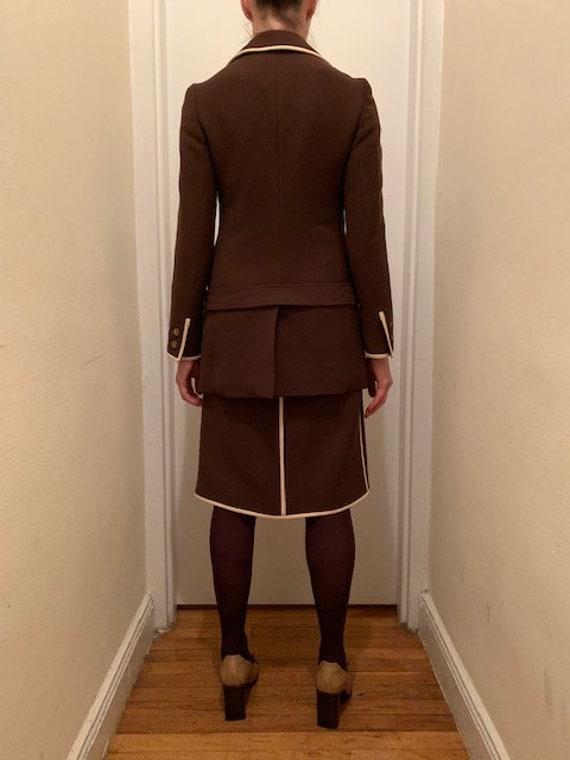 Vintage 90's Prada Skirt Suit - image 3