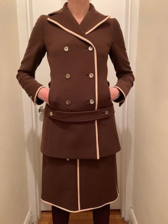 Vintage 90's Prada Skirt Suit - image 1