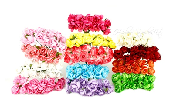 Paper flowers 34 inch crown flower headband flowers paper etsy image 0 mightylinksfo