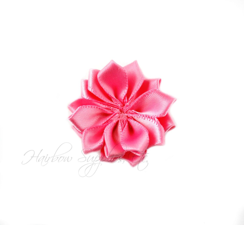 Bubblegum Pink Dainty Star Flowers 1 12 Inch Bubblegum Pink Etsy