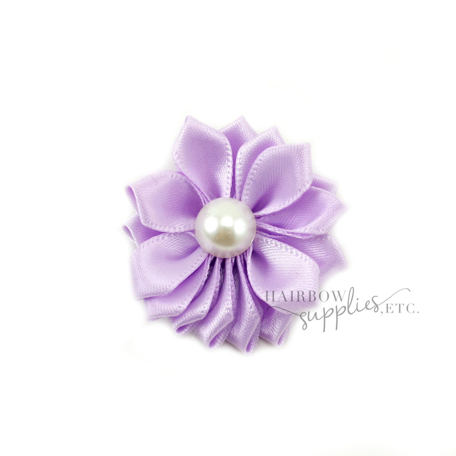 Light Purple Dainty Star Flowers With Pearl 1 12 Inch Light Etsy