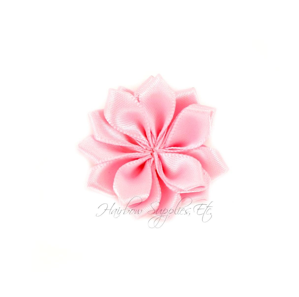 Light Pink Dainty Star Flowers 1 12 Inch Light Pink Fabric Etsy