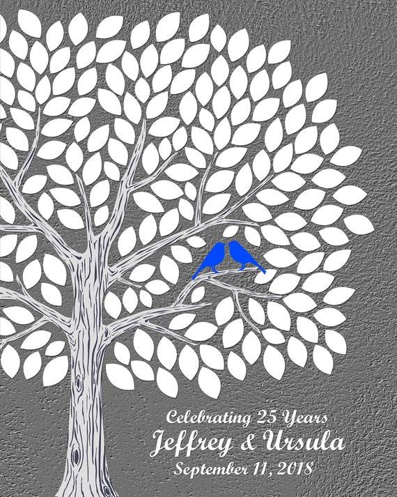25 Anniversario Regalo Per I Genitori 25esimo Anniversario Etsy