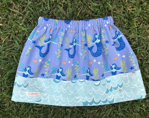 Skirt, MERMAIDS + WAVES, Organic Cotton
