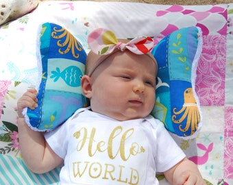Head Support Elephant Ear Pillow Car Seat Infant