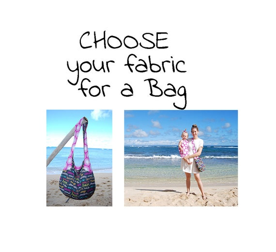 Haleiwa Boho Bag * CHOOSE your own FABRIC