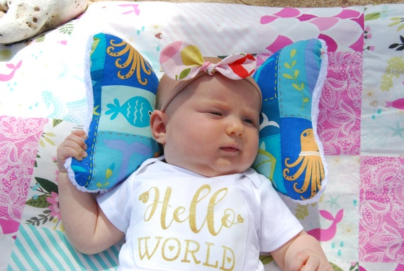 Head Support * Elephant Ear Pillow * Car Seat Head Support * Infant Head Support