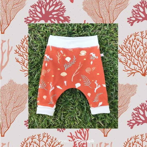 ORGANIC Cotton Baby Knit Pants