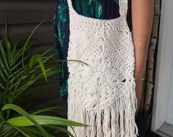 1317bfc65f13 Urban gypsy boho crocheted bag