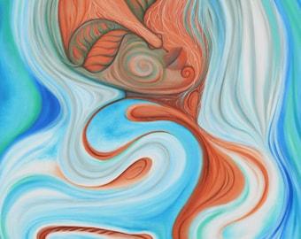 Emergence Art Print by Tanya Torres