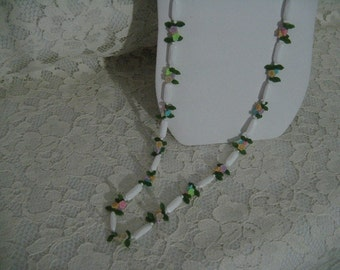 Floral Necklace SWEET SUMMER NECKLACE