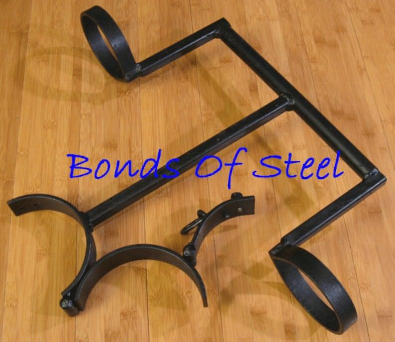 Portable Stocks Restraint Bonds of Steel BDSM Mature   Etsy