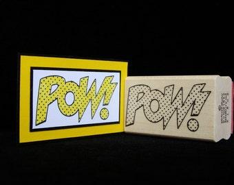 comic book POW!