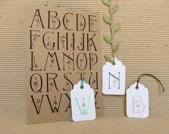 vine alphabet  (no.3)