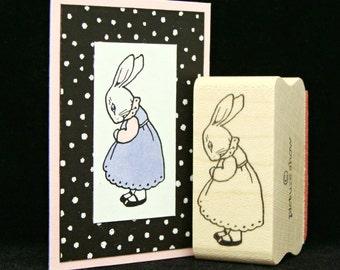 little girl bunny