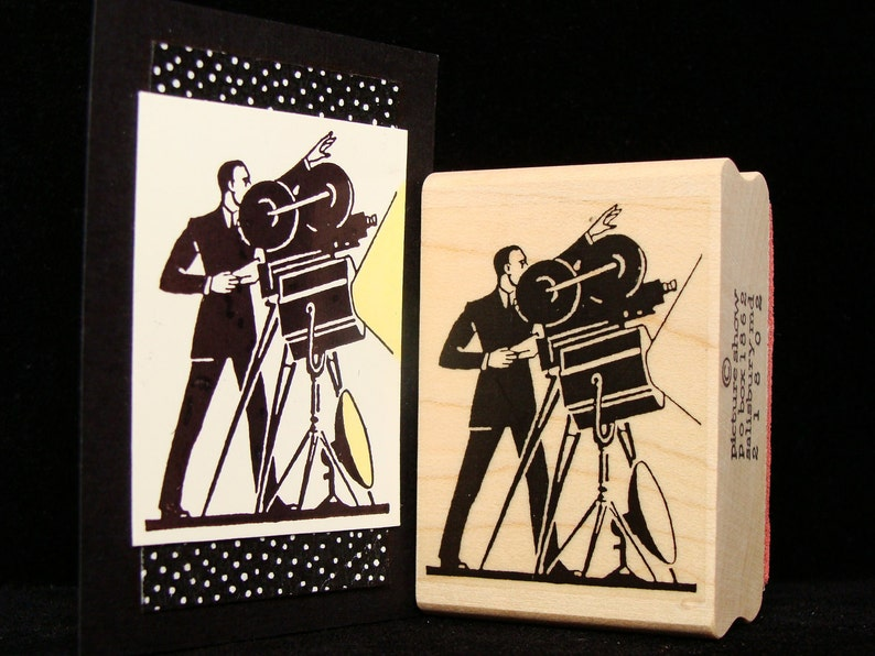 movie rubber stamp the director image 0