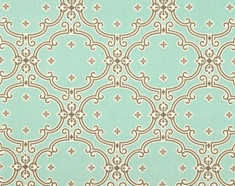 END of BOLT - 16 inches - Joel Dewberry - Birch Farm - Dutch Oven in Egg Blue - cotton quilting fabric - REMNANT
