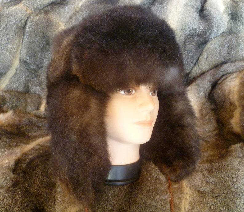 36a9d3d752f New Zealand Possum Fur Man s Bush Hat Fur Outside
