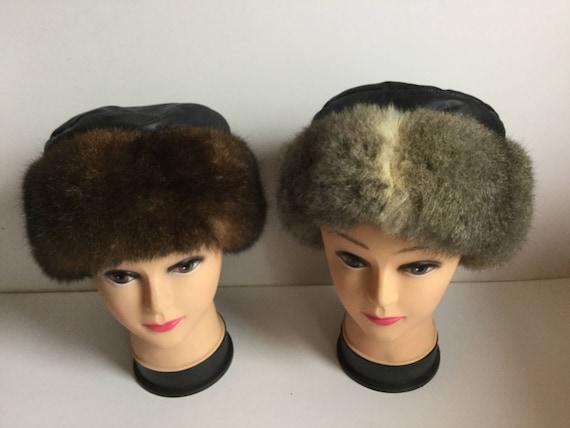 0c4af0b5c1d New Zealand Possum Fur Natural Brown or Grey Trim Hat with