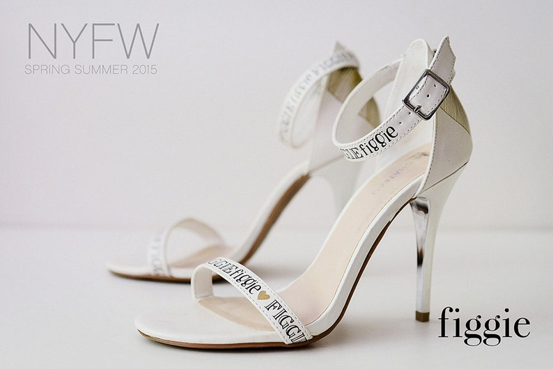 169a939e3243 SAMPLE SALE Sz 10 White Strappy Hand-Painted Signature Figgie