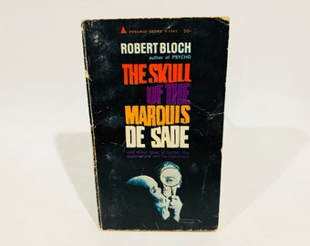 The Skull of the Marquis de Sade & Other Stories 1966 Vintage Horror Paperback Book Anthology