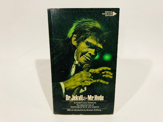 Vintage Horror Book Dr Jekyll And Mr Hyde By Robert Louis Etsy