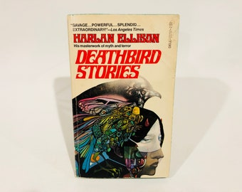 Vintage Fear Fantasy Book Deathbird Stories by Harlan Ellison 1977 Paperback Anthology
