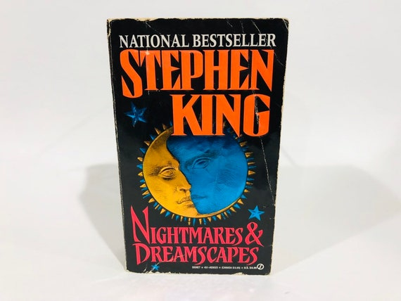 Vintage Horror Book Nightmares Dreamscapes By Stephen King Etsy