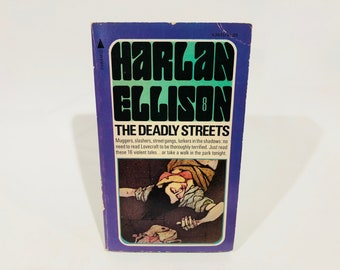 Vintage Science Fantasy The Deadly Streets by Harlan Ellison 1975 Paperback Anthology