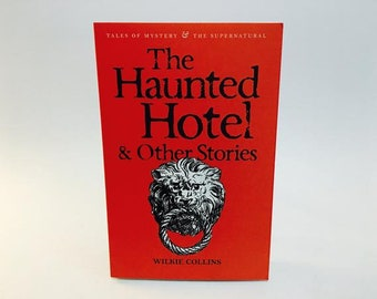 Vintage Gothic Mystery Book The Haunted Hotel & Other Stories by Wilkie Collins UK Edition Softcover Anthology