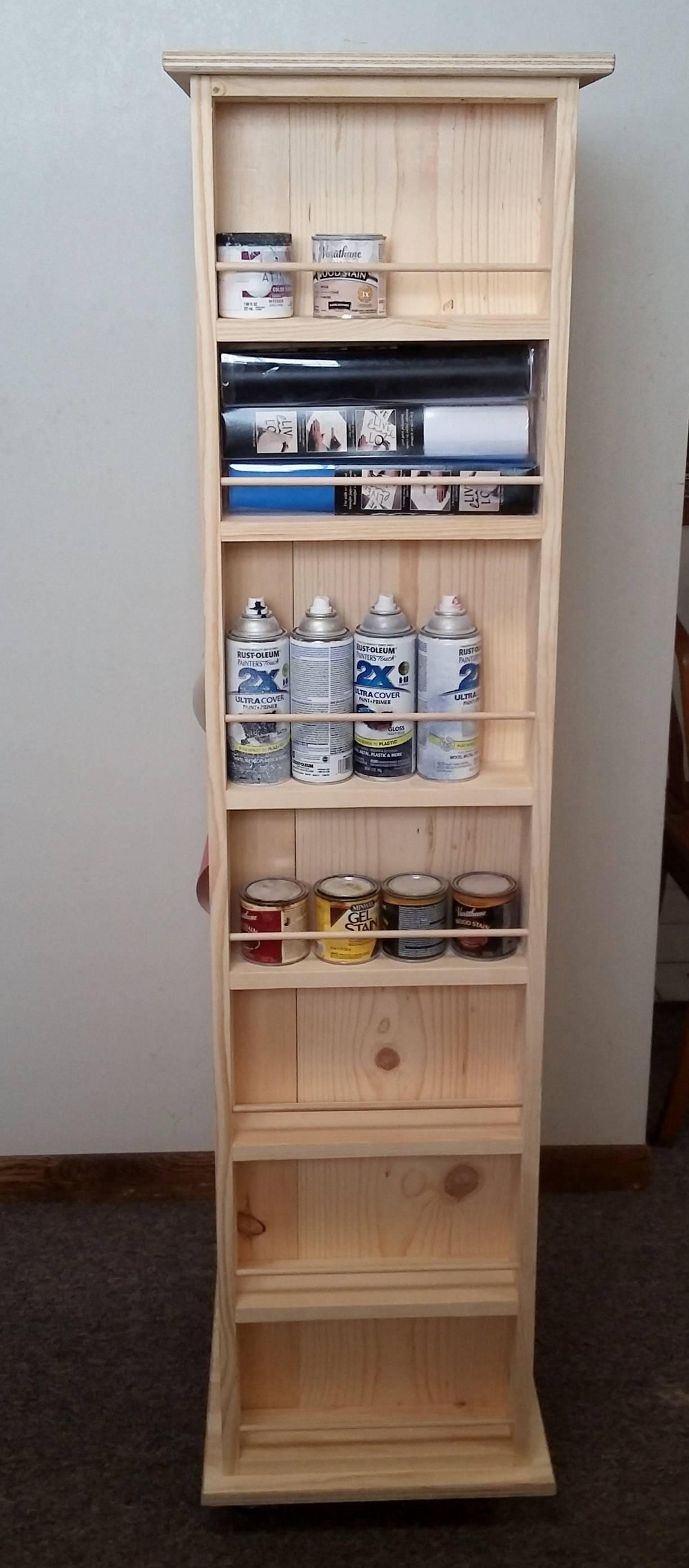 Sold by Midwestclassiccrafts & Craft supply cabinet - craft storage - rubber stamp storage ...