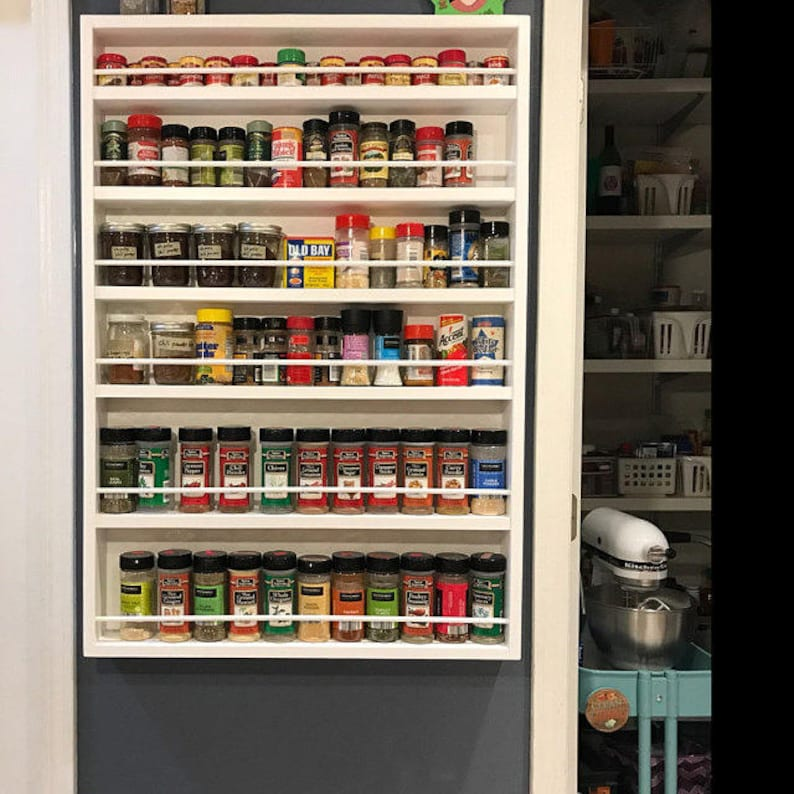 Pantry Door Spice Rack Door Spice Rack Door Mounted Spice Rack Spice Rack For Door Back Of Door Spice Rack Spice Rack