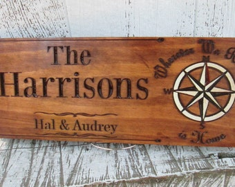 Lake Life Sign by An Engineered Craft Carved Decorative Sign