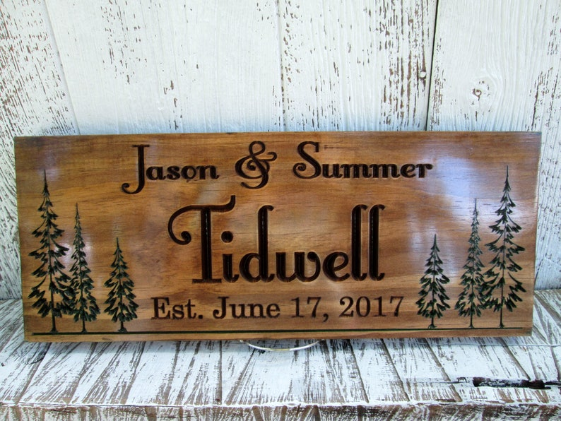 Tremendous Custom Carved Sign Premium Pine Sign Personalized Wooden Sign Made To Order Signs Design Your Own Sign Free Shipping C108 Download Free Architecture Designs Philgrimeyleaguecom