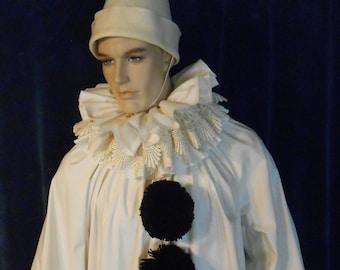 543d7edc G019 Amazing Vintage style Pierrot Clown Adult Sizes