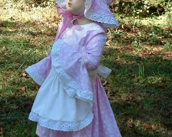 B123  Absolutely the Most Adorable Little Bo Peep Costume Toddler Sizes