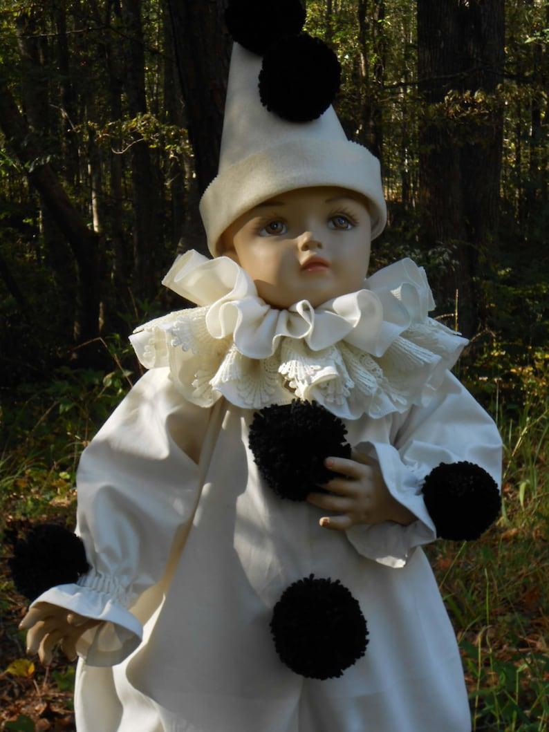 5836ff0d G018 Amazing Vintage style Pierrot Clown Children Sizes | Etsy